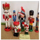 809 - LOT OF 7 NUTCRACKERS (1 AS IS)