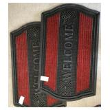 809 - PAIR OF NEW WELCOME MATS