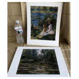 809 - UNFRAMED IMPRESSIONISTS PRINTS