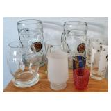 809 - MIXED LOT OF GLASSES - SEE PICS