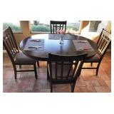 35 - LOVELY KITCHEN TABLE W/4 CHAIRS