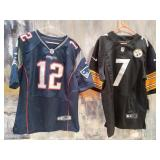 "N - PATRIOTS JERSEY ""MANNING"" & STEELERS JERSEY"