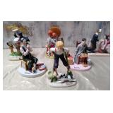 N - NORMAN ROCKWELL FIGURINES