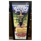 N - FRAMED ABBOTT & COSTELLO JEEPERS PRINT