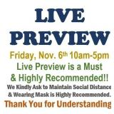 WE WELCOME YOU TO STOP BY AND LIVE PREVIEW FRIDAY