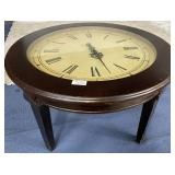 11 - STUNNING CLOCK ACCENT TABLE