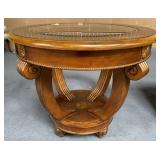 11 - NICE ROUND END TABLE