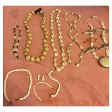 807 - LOT OF SHELL JEWELRY