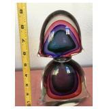 807 - MURANO GLASS PERFUME JAR