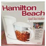 807 - NEW HAMILTON BEACH ICED TEA MAKER