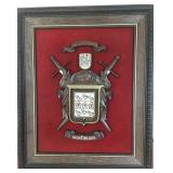 807 - FAMILY COAT OF ARMS WALL ART