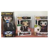 """807 - LOT OF 3 """"THE JOKER"""" COLLECTIBLES IN BOXES"""