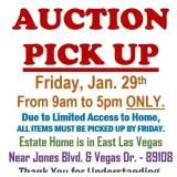 ALL ITEMS MUST BE PICKED UP AT HOME BY FRIDAY @5pm