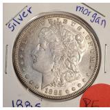 1885 - MORGAN SILVER DOLLAR (P5)