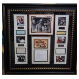 """11 - FRAMED """"WIZARD OF OZ"""" WITH COA"""
