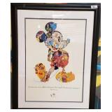 11 - FRAMED  75 YEARS OF MICKEY MOUSE