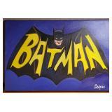 N - BATMAN ART BY CHRIS CARGILL W/COA
