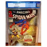 N - AMAZING SPIDER MAN #46 MARVEL COMIC BOOK