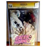 N - SIGNED GREEN HORNET #10 COMIC BOOK