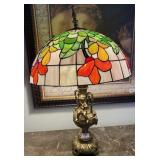 78 - TIFFANY STYLE TABLE LAMP