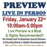 You Are Welcome to Stop By Friday to Live Preview!