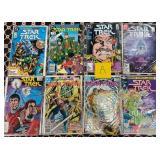 37 - LOT OF 8 STAR TREK COMIC BOOKS (A)