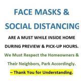 PLEASE WEAR A MASK & MAINTAIN SOCIAL DISTANCE