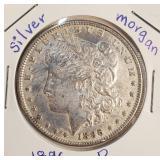 "1896 ""P"" - MORGAN SILVER DOLLAR (23)"