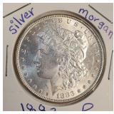 "1883 ""P"" - MORGAN SILVER DOLLAR (11)"
