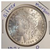 "1886 ""P"" - MORGAN SILVER DOLLAR (10)"