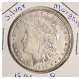 "1896 ""P"" - MORGAN SILVER DOLLAR (19)"