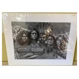 """808 - FRAMED """"SPIRIT OF MT. RUSHMORE"""" BY A. WILSON"""