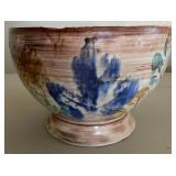 850 - SIGNED POTTERY BOWL