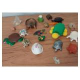 850 - LARGE LOT OF TURTLE HOME DECOR