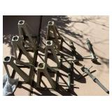 850 - LOT OF 6 JACK STANDS