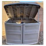 850 - OUTDOOR STORAGE CHEST (SEE PICS)