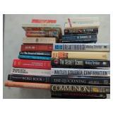 850 - LOT OF HARDBACK & PAPERBACK BOOKS