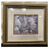11 - GOLD FRAMED ADONIS WALL ART
