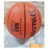 11 - SPALDING BASKETBALL W/SIGNATURES