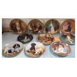 11 - LOT OF 10 COLLECTOR PLATES