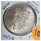 "1886 ""P"" - MORGAN SILVER DOLLAR (101)"