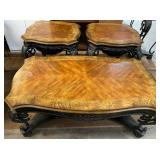 11 - STUNNING COFFEE TABLE & 2 END TABLES