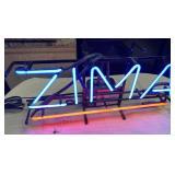 11 - VINTAGE ZIMA NEON SIGN