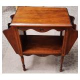 11 - CUTE MAGAZINE RACK ACCENT TABLE