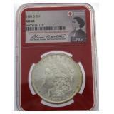 1881-S MS64 Morgan Silver Dollar