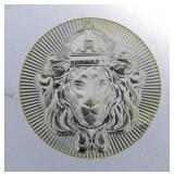 Scottsdale Mint 100 Gram .999 Pure Silver Button