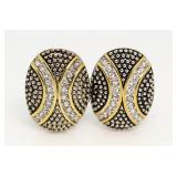 Marily Monroe Collection Large Fashion Earrings
