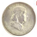 1948-D Franklin Silver Half Dollar *Key Date