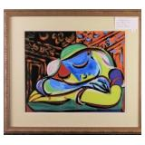 Sleeping Girl by Pablo Picasso