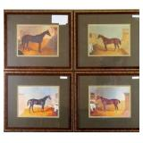 Set of 4 Stablemates by John Frederick Herring